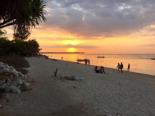 zonsondergang-gili-eilanden