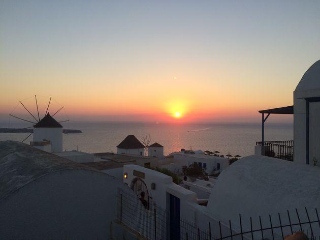 zonsondergang-oia-santorini