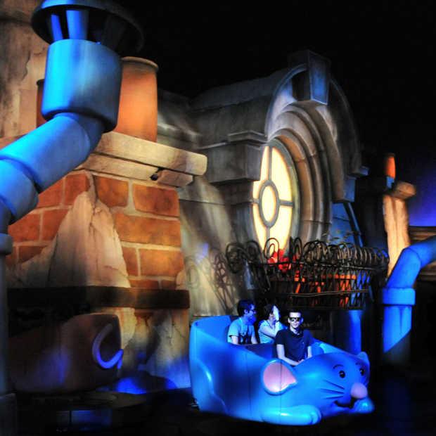 Als 'ratten in de val' bij Disneyland Paris
