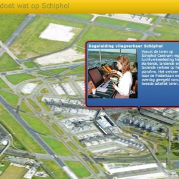 Wie doet wat op Schiphol?