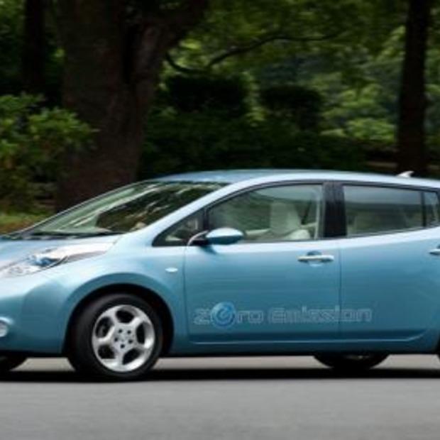 'Groene auto' Nissan Leaf nu al een succes!