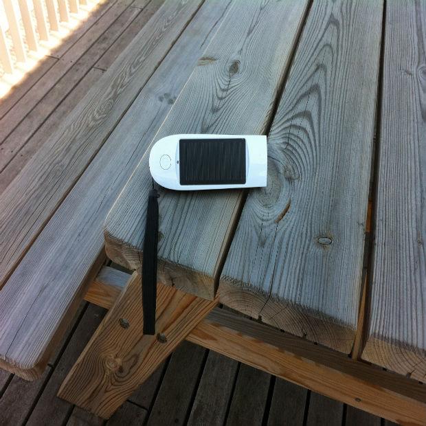 Overal mobiel bereikbaar door oplader op zonne-energie