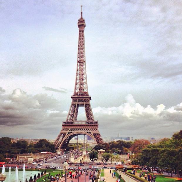 Travel Thursday: te voet door Parijs