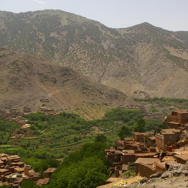 Marokko te voet verkennen