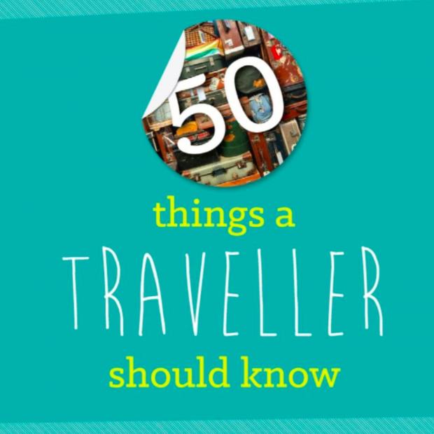 50 dingen die je als traveler moet weten, doe de test! [Infographic]