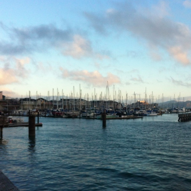 Morning run door San Francisco
