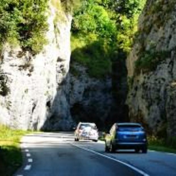 Franse provinciale wegen zijn onveilig!
