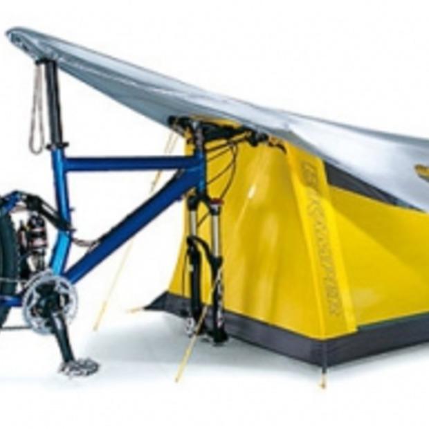 Kampeergadget: de Bikecamper!