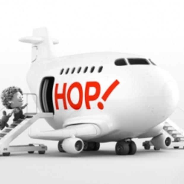 Maak kennis met HOP! De nieuwe Franse lowbudget luchtvaartmaatschappij