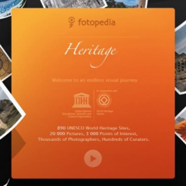 Fotoapplicatie Heritage