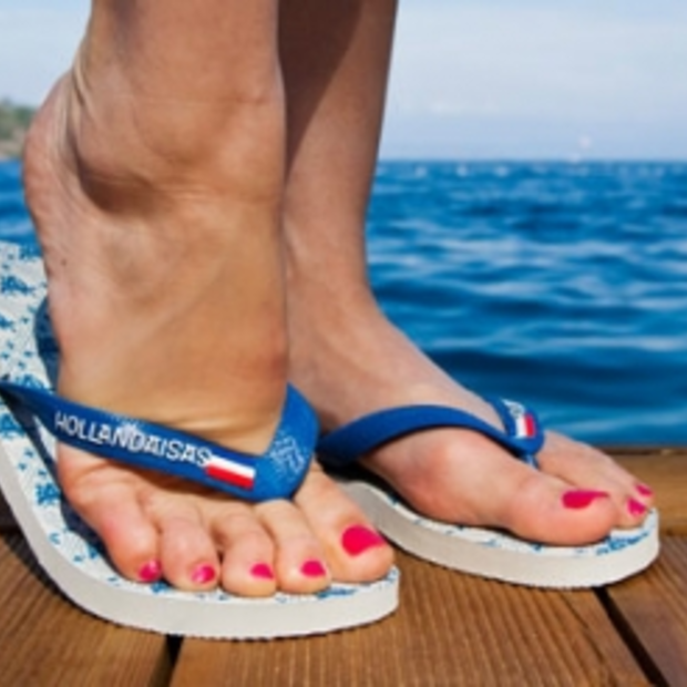 Slippers van Nederlands ontwerp: Hollandaisas slippers