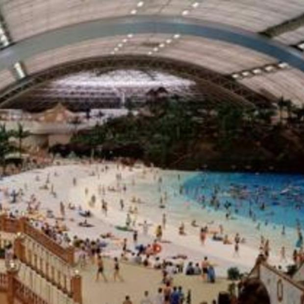 Indoor strand voor Japanners: Seagaia Ocean Dome