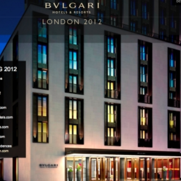 Opening Bulgari Hotel London voorjaar 2012