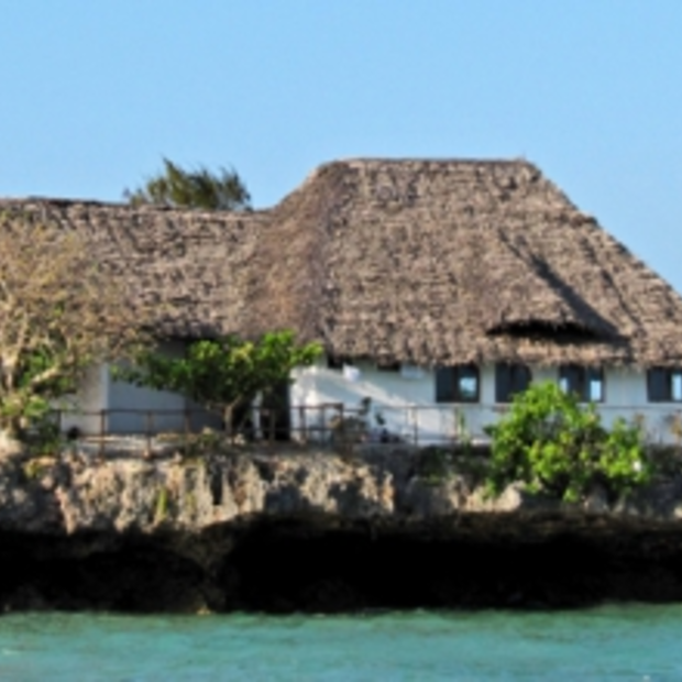 Bijzondere restaurants: 'The Rock Restaurant' op Zanzibar