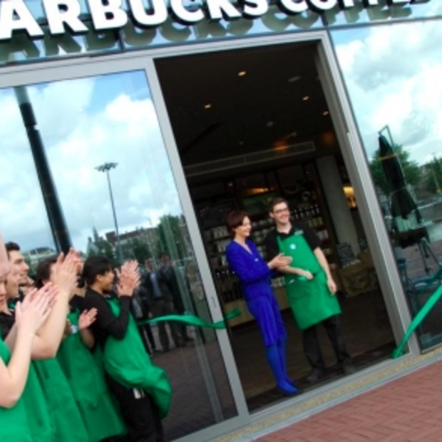 Nu ook Starbucks in hotel: Starbucks DoubleTree by Hilton Amsterdam