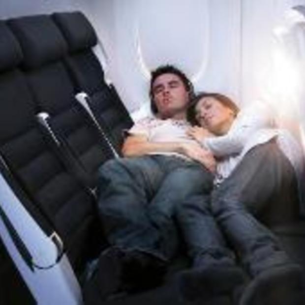 Comfortabel slapen in 'economy class'