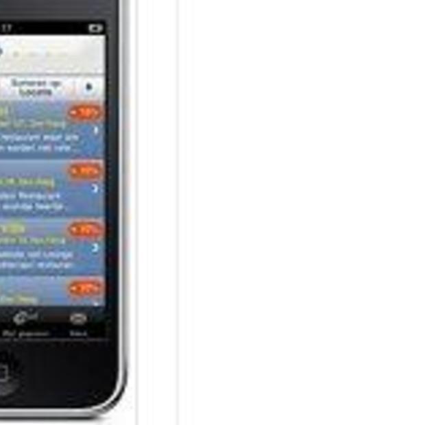 ANWB-voordeel app voor de iPhone