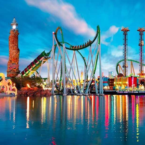 Voor de 3 beste attractieparken ter wereld moet je naar Orlando!