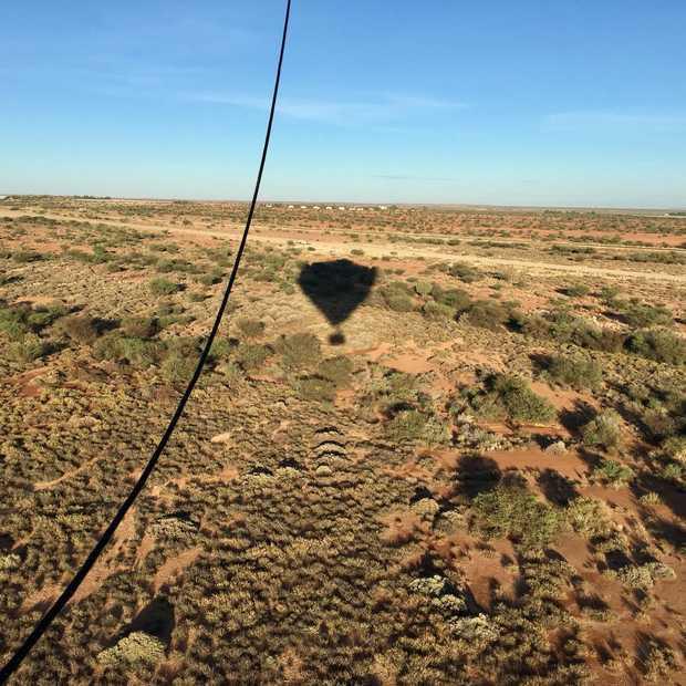 Een oogverblindende ballonvaart over de Zuid-Afrikaanse wijnvelden