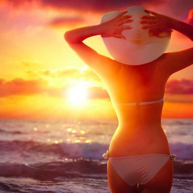 Bikini die je waarschuwt voor uv-straling