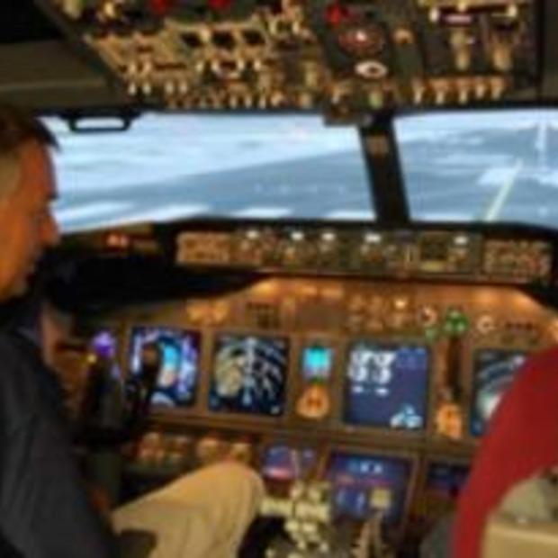 Neerstorten met vliegtuig als bedrijfsuitje