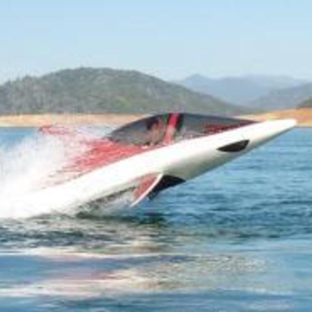 Is het een boot, haai of vliegtuig? Dit is de Seabreacher X