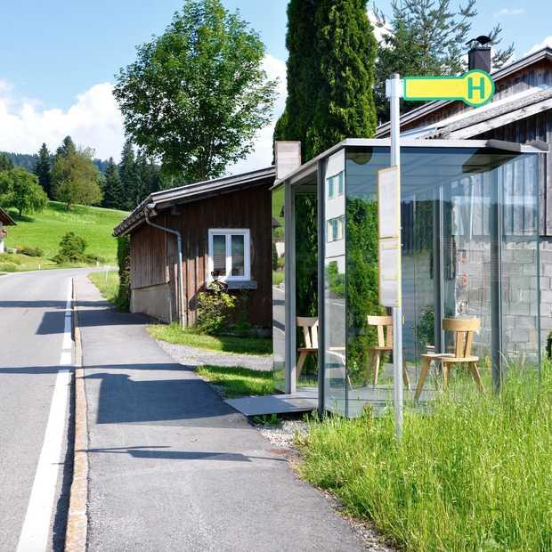 Krumbach heeft de mooiste bushaltes van Oostenrijk