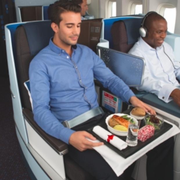 Business Class maaltijden van topkok Sergio Herman op vluchten van KLM