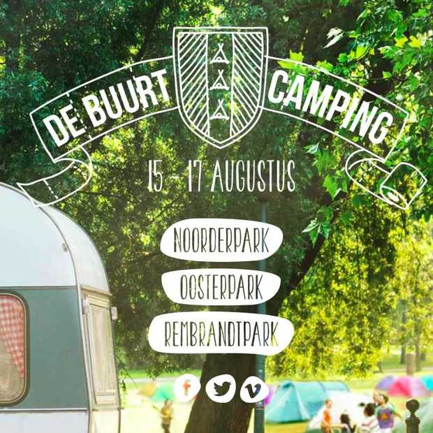 De Buurtcamping: kamperen in Amsterdamse parken