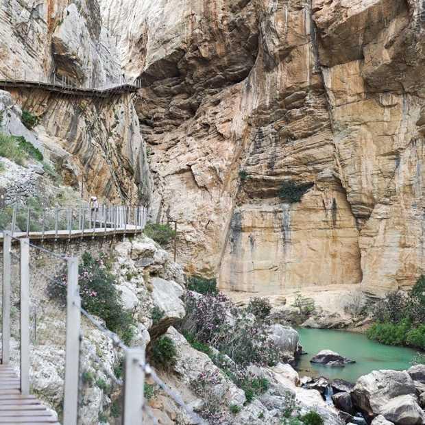 Wandelroute el Caminito del Rey in 25 foto's