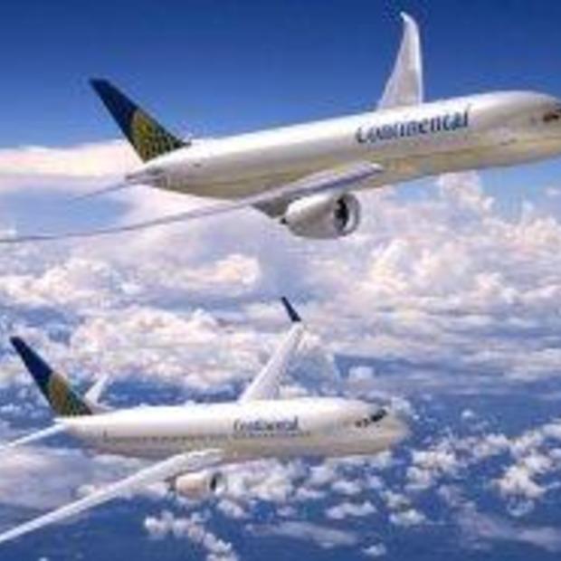 10 jaar Continental Airlines op Nederlandse bodem...