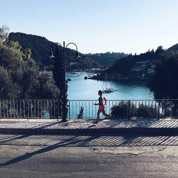 Vier keer hardlopend het Griekse eiland Corfu ontdekken