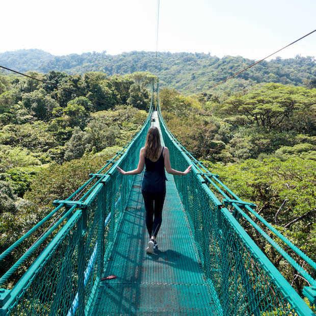 Ontdek het mysterieuze Monteverde Cloud Forest in Costa Rica