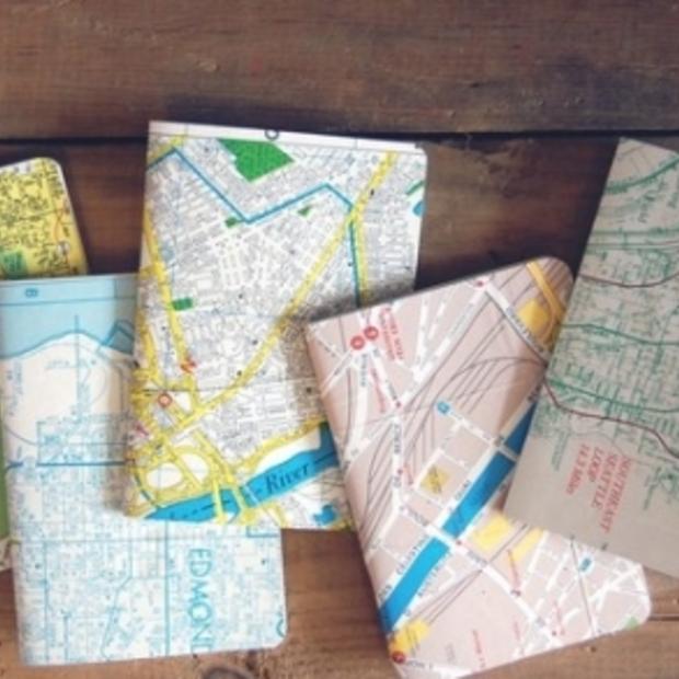 Niets te doen vandaag? Wees creatief met oude plattegronden en routekaarten!