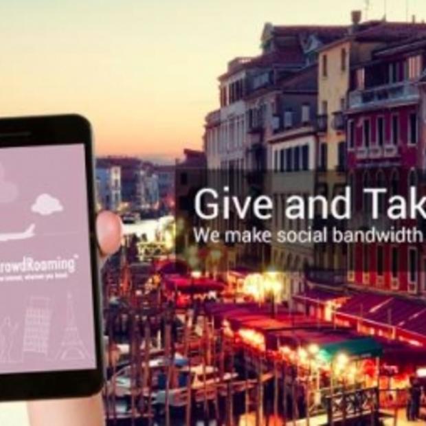 Gratis internet in het buitenland voor Android-users met de app CrowdRoaming