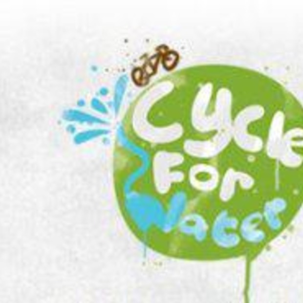 Een mooi initiatief; Cycle for Water!