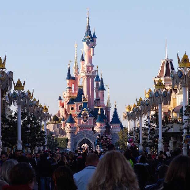 Disneyland meest gefotografeerde plek 2014