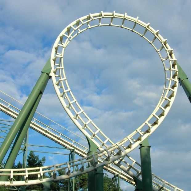 De Efteling bouwt aan een nieuwe achtbaan, een dive coaster