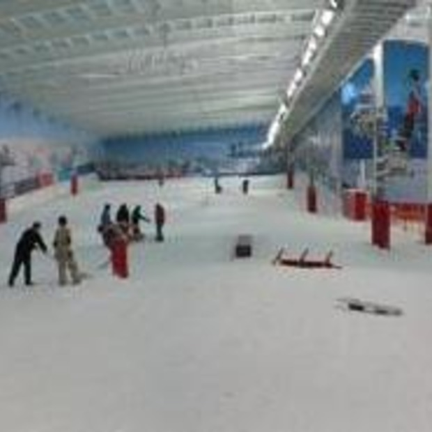 Eerste Indoor Freestyle Trainingscentrum in Zwisterse Alpen