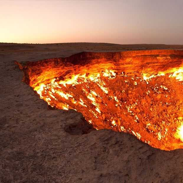 Zoiets als de 'Gates of Hell' in Turkmenistan heb je nog nooit gezien