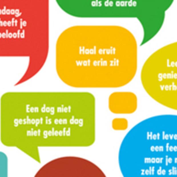 Nederlandse vrouw geeft eigen geluk cijfer 7,5