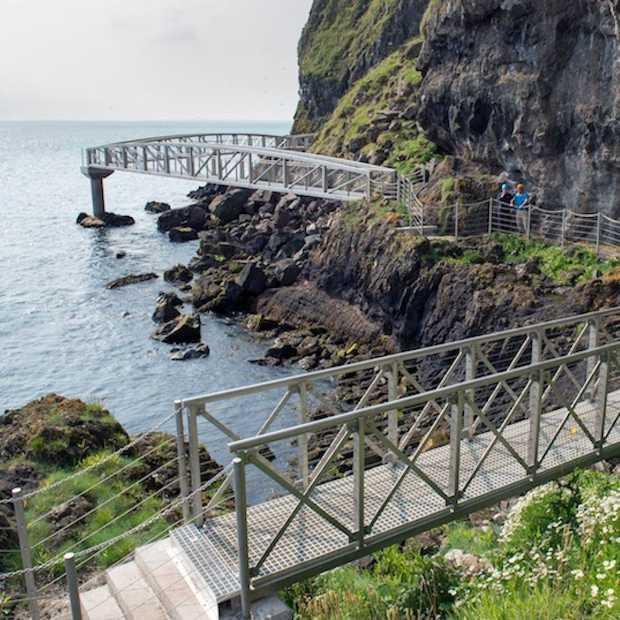 The Gobbins, een indrukwekkende wandeling langs de Ierse kust