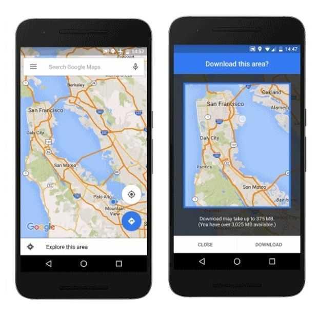 Google Maps Navigatie gaat dan eindelijk ook offline