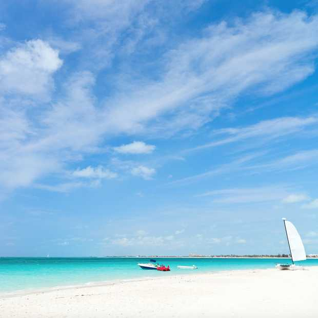 Het mooiste strand ter wereld: Grace Bay op eiland Providenciales