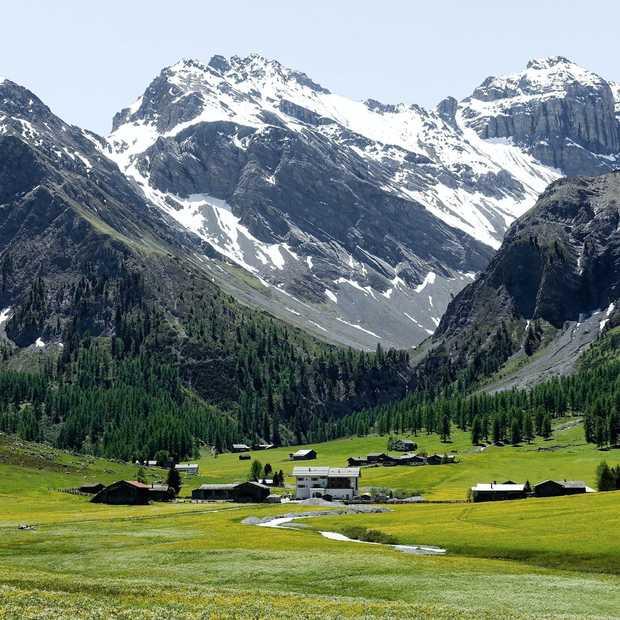 Waanzinnige uitzichten in het Zwitserse Graubünden