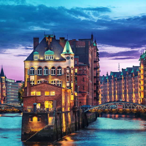 Hamburg is graffiti en architectuur