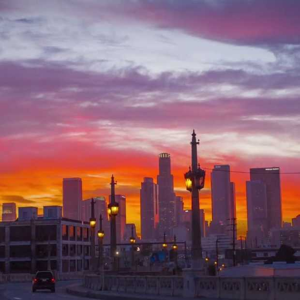 Geweldige hyperlapse video van Los Angeles