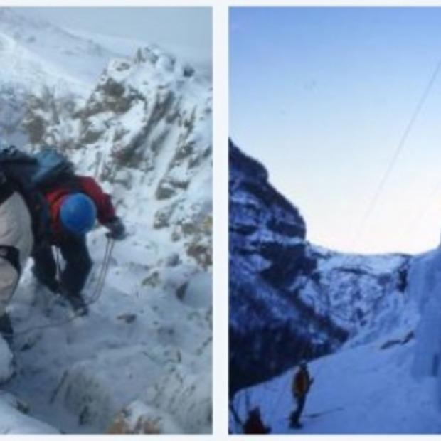 Alleen voor avonturiers: ijsklimmen!