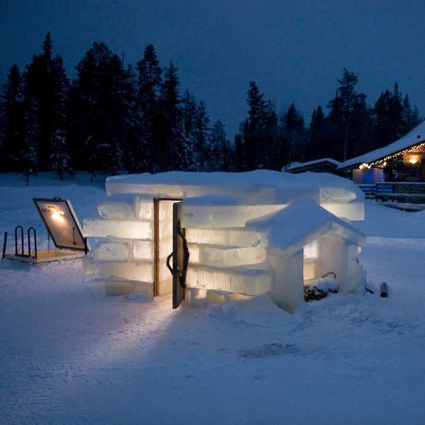 Doen in Finland: opwarmen in een ijssauna