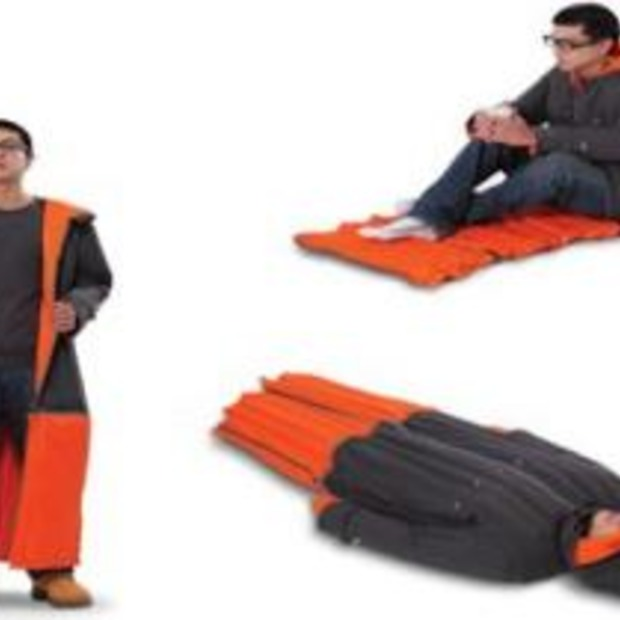 The Inflatable Sleeping Coat